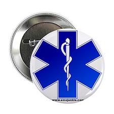 "Star of Life Logo 2.25"" Button"