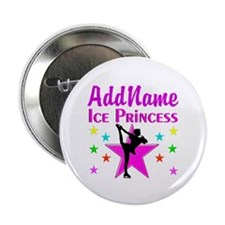 "PURPLE ICE PRINCESS 2.25"" Button"