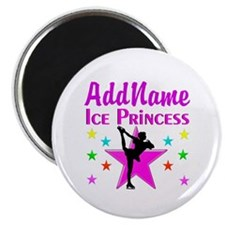 PURPLE ICE PRINCESS Magnet