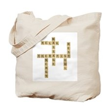 Massage Therapy Puzzle Tote Bag
