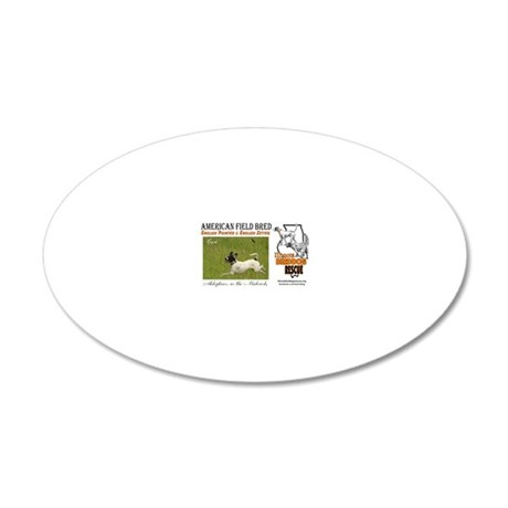 Cisco 20x12 Oval Wall Decal