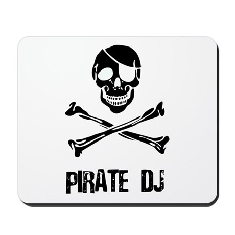 Pirate DJ Mousepad