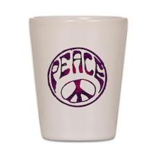 deep peace Shot Glass