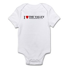 I heart The Valley Infant Bodysuit