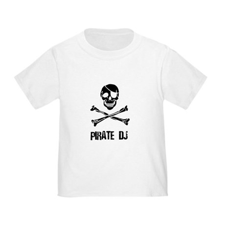 Pirate DJ Toddler T-Shirt