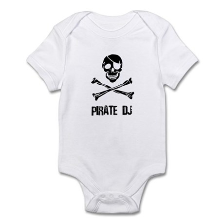 Pirate DJ Infant Bodysuit