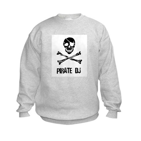 Pirate DJ Kids Sweatshirt