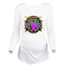 GradGirlsAmelia:0002 Long Sleeve Maternity T-Shirt