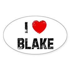 I * Blake Oval Decal