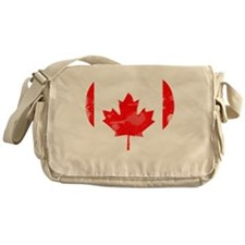 A Canadian Heart Messenger Bag