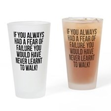 learnt-to-walk Drinking Glass