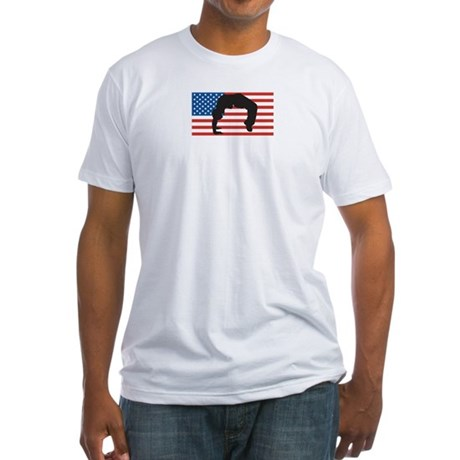 Dance For America Fitted T-Shirt