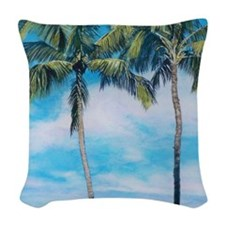 oahupuzzle Woven Throw Pillow