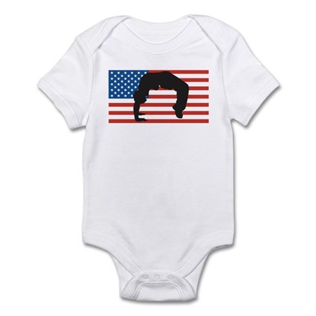Dance For America Infant Bodysuit