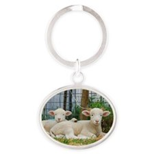 Buddy Lambs-signed by photographer Oval Keychain