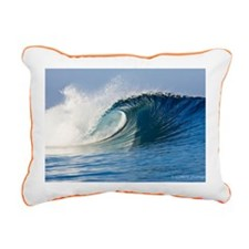 Fijian Wave Rectangular Canvas Pillow