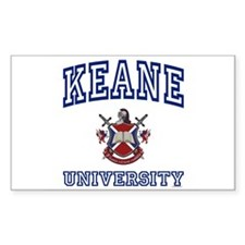 KEANE University Rectangle Decal