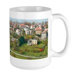Suburbs of Prague, Czechoslovakia Large Mug