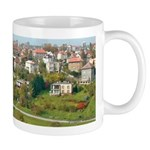 Suburbs of Prague, Czechoslovakia Mug