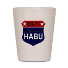 SR-71 - HABU Shot Glass