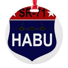 SR-71 - HABU Ornament