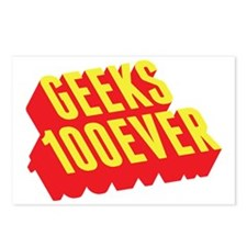 Geeks 100ever Postcards (Package of 8)