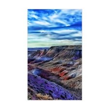 painted desert Decal