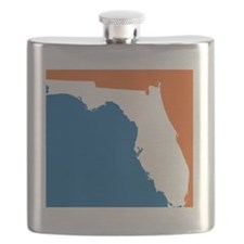 Florida Colors (Gators) Flask