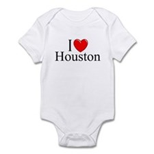 """I Love Houston"" Infant Bodysuit"
