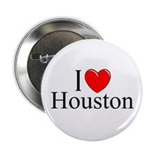 """I Love Houston"" Button"