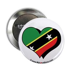 "I Love Saint Kitts & Nevis 2.25"" Button (100 pack"