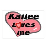 kailee loves me  Postcards (Package of 8)