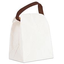 Batesville, Texas. Vintage Canvas Lunch Bag