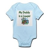 My Daddy Is A Lawyer Onesie