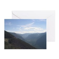 Beartooth Claw Highway Greeting Cards