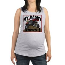 MyDaddyRocks2 Maternity Tank Top