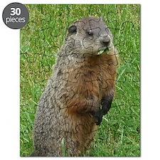 Groundhog eating Puzzle