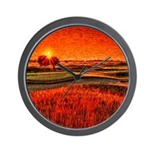 large sunrise Wall Clock