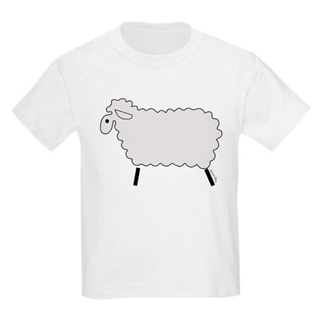 Cute lamb Kids Light T-Shirt