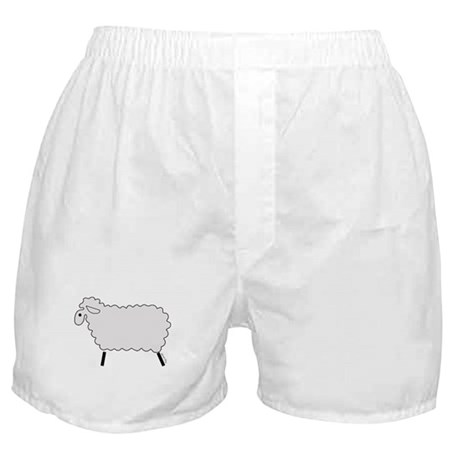Cute lamb Boxer Shorts