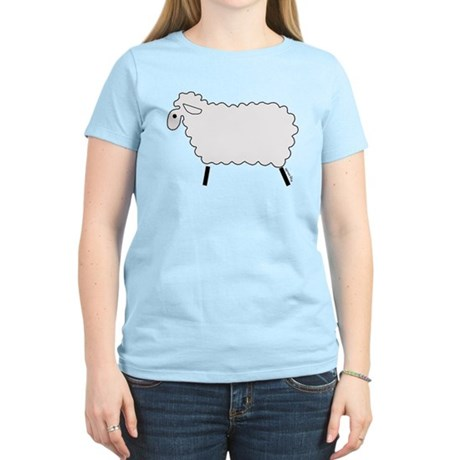 Cute lamb Women's Light T-Shirt