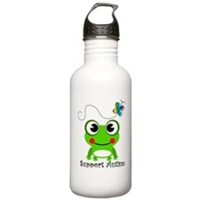 Support Autism shirt Water Bottle