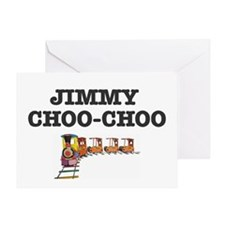 JIMMY CHOO-CHOO TRAIN Greeting Card