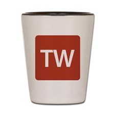 Triple-Word Shot Glass