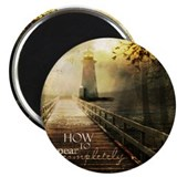 "How to Disappear Completely 2.25"" Magnet (10 pack)"