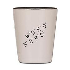 Word Nerd Shot Glass