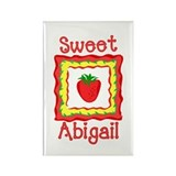 Sweet Abigail Rectangle Magnet