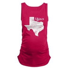 Shiner, Texas. Vintage Maternity Tank Top