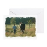 Cute Percheron Greeting Cards (Pk of 10)