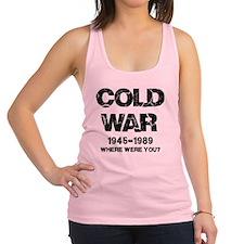 Cold War Where were you? Racerback Tank Top
